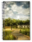 Inner Harbor View Spiral Notebook
