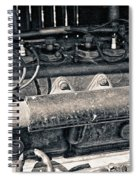 Inner Life Of An Old Car Spiral Notebook