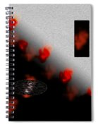 Inner Passion Digital Oil Painting Spiral Notebook