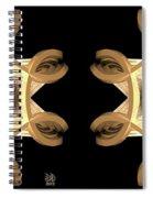 Inner Response - Stereogram Spiral Notebook