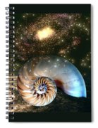 Inner Space Outer Space Spiral Notebook