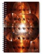 Inner Strength - Abstract Art Spiral Notebook