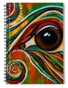 Inner Strength Spirit Eye Spiral Notebook