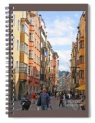 Innsbruck Color Spiral Notebook