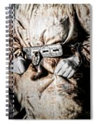 Insane Person In Restraints Spiral Notebook