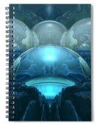 Inside A Blue Moon Spiral Notebook