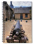 Inside A French Fort Spiral Notebook
