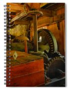 Inside A Grist Mill Spiral Notebook