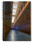 Inside Alcatraz Spiral Notebook