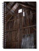 Inside An Old Barn Spiral Notebook
