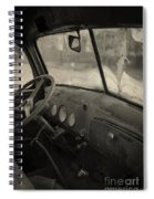 Inside An Old Junker Car Spiral Notebook