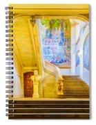 Inside Capitole De Toulouse Spiral Notebook