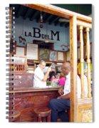 Inside La Bodeguita Del Medio Spiral Notebook