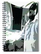Inside Man - Outside Man Spiral Notebook