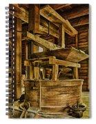 Inside Mingus Grist Mill Spiral Notebook