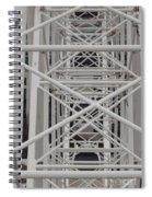 Inside Of The Ferris Wheel Spiral Notebook