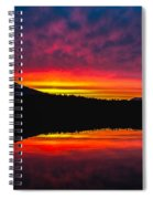 Inside Passage Sunrise Spiral Notebook