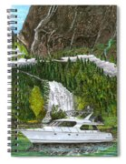 Inside Passage Time Out Spiral Notebook