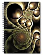 Inside The Black Box Spiral Notebook