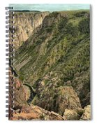 Inside The Black Canyon Spiral Notebook