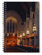 Inside The Cathedral Spiral Notebook