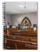 Inside The Church Spiral Notebook