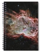 Inside The Flame Nebula Spiral Notebook