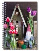 Inside The Garden Shed Spiral Notebook