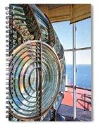 Inside The Lighthouse Spiral Notebook