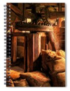 Inside The Old Mill Spiral Notebook