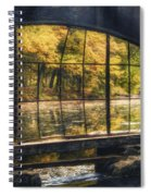 Inside The Old Spring House Spiral Notebook