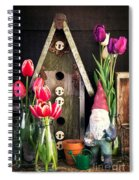 Inside The Potting Shed Spiral Notebook
