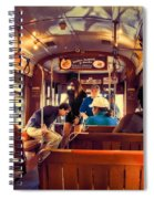 Inside The St. Charles Ave Streetcar New Orleans Spiral Notebook