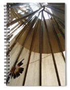 Inside The Tipi Spiral Notebook