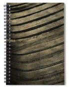 Inside The Wooden Canoe Spiral Notebook