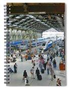 Inside Train Station, Nice, France Spiral Notebook