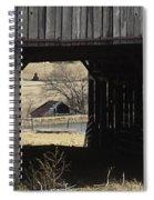 Barn - Kentucky - Inside Treasure Spiral Notebook