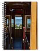 Inside Trolley 28 Spiral Notebook