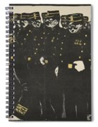 Inspection Of A Line Of Police Spiral Notebook