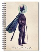 Inspector Dragonfly Spiral Notebook