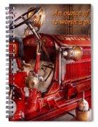 Inspiration - Truck - Waiting For A Call Spiral Notebook