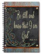 Inspirational Chalkboard-b2 Spiral Notebook
