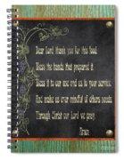 Inspirational Chalkboard-d2 Spiral Notebook