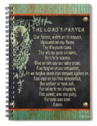 Inspirational Chalkboard-f2 Spiral Notebook
