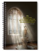 Inspirational - Heavenly Father - Senrenity Prayer  Spiral Notebook