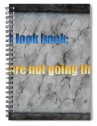 Inspiring Words For You Spiral Notebook