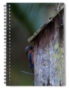 Installing Bedding Spiral Notebook