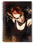 Intense Dancer Spiral Notebook