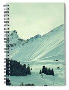 Interfluent Lines Spiral Notebook