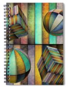 Interior Design 3 Spiral Notebook